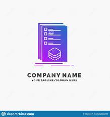 Design Check Categories Categories Check List Listing Mark Purple Business Logo