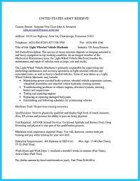 Cv Mechanic 12 Cv Format In Usa Business Letter