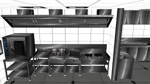 Design A Commercial Kitchen Commercial Kitchen Design In 3ds Max Youtube
