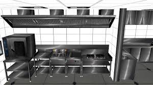 Commercial Kitchen Designer Commercial Kitchen Design In 3ds Max Youtube