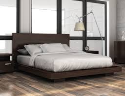 modern wood platform bed — new decoration  best contemporary