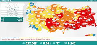 Hurriyet.com.tr - 🗓 11 Temmuz 2021 | Türkiye Günlük Koronavirüs Tablosu |  Face