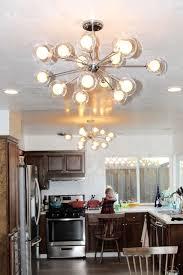 inexpensive flush mount sputnik light fixture