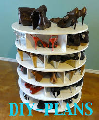 The DIY Lazy Shoe Zen Shoes Rack Plans shoe Organiser. $19.00, via Etsy.