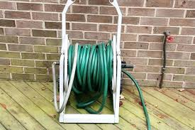 garden hose holder stake with