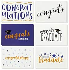 Amazon Com 36 Pack Graduation Cards Blank Greeting Cards
