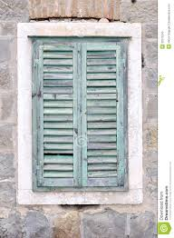Old Window Old Window With Closed Shutters On An Old House Royalty Free Stock