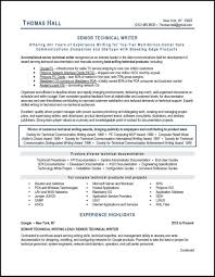 Technical Writer Resume Examples Resume Examples Tech Resume Template Software Engineer Objective 13