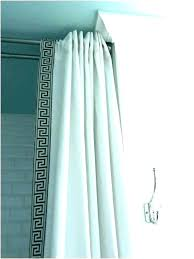 suspended shower curtain rod ceiling mounted shower curtain rod gold ceiling mounted shower curtain straight ceiling