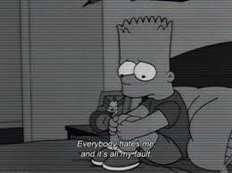 Bart Simpson Sad Wallpaper Iphone