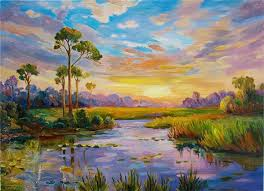 beautiful oil paintings of landscapes