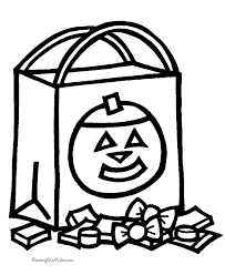 Small Picture Preschool Halloween coloring pages 001