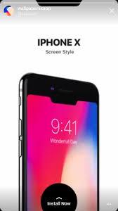 iPhone X wallpaper app Ad - Album on Imgur