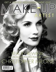 here s the beauty cover for issue 106 of make up artist magazine