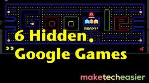 6 hidden google games you can play when