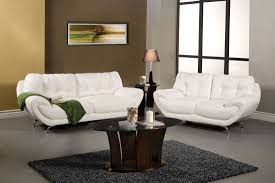 White Living Room Set For Volos White Living Room Set From Furniture Of America Sm6083 Sf