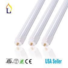 6 Ft Fluorescent Light Fixture 6 Pack Jllead Led T8 6ft 30w Tube Light With Fa8 Base Etl