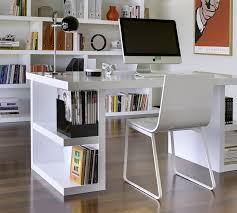 contemporary desks for office. Modern Home Office Desk White Contemporary Desks For