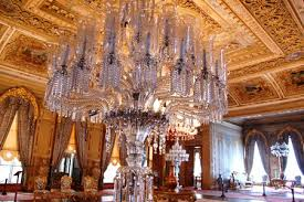 from the very beginning the palace s equipment implemented the highest technical standards gas lighting and water closets were imported from great britain