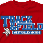 Track Cool Shipping Designs Free Custom - Field T-shirt And Shirts