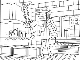 Tuyển tập các bức tranh tô màu Minecraft đẹp nhất dành cho bé trai yêu  thích | Trang tô màu, Minecraft, Đang yêu