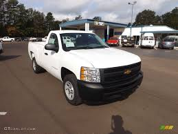 Summit White 2013 Chevrolet Silverado 1500 Work Truck Regular Cab ...