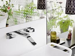 3 hole wall mounted washbasin tap axor urquiola 228 mm by hansgrohe