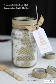 Decorating Canning Jars Gifts HAPPY Holidays Lavender Bath Salt Gift In A Jar Tatertots And Jello 80