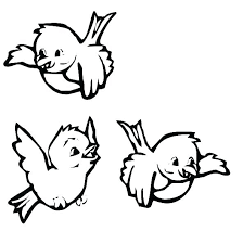 Bird Nest Coloring Page Bird And New Nest Coloring Sheet Baby Bird