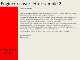 Electronics Engineering Cover Letter Sample Engineer Cover Letter