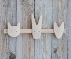 Baby Coat Rack Kids coat rack Baby coat rack Animal coat rack Wooden coat Stuff I 80