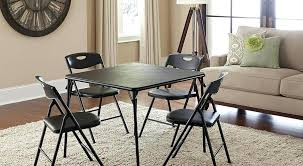 dining room table in kitchen find folding chairs and tables that make it easy to host