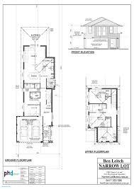 house plan best narrow lot house plans modern design colors single story houses