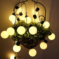 Bulb Fairy Lights Us 12 99 30 Off Xsky Led Globe Bulb Light Wedding String Light 6m 20leds Fairy Lights Christmas Garden Garland Party Decorative Outdoor Led Lamp In