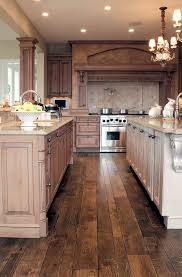 wood floors in kitchen kitchen with wood floors