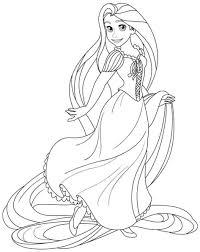 Download Coloring Pages: Disney Princesses Coloring Pages Disney ...