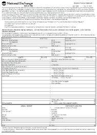 Personal Financial Form Template – Custosathletics.co