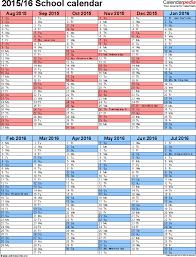 School Calendar 2015 16 Printable For College Alg Syllabus Template 5 School Year Calendar
