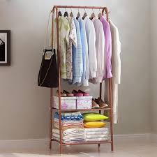Coat Rack Organizer Coat Stand Space Saving Hanger Clothes Storage Coat Rack Stand 26