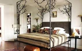 Black Metal Canopy Bed Black Metal Canopy Bed Black Metal King Size ...