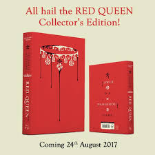 victoria aveyard on insram wow the uk collector s edition of red queen is stunning well done pre order link in bio