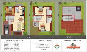 30 40 house plans india unique house plans x west facing y autocad north with