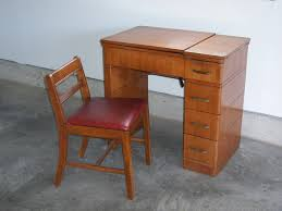 antique singer sewing machine desk and chair everything you see in the pictures is included excellent condition only 60