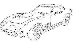 Small Picture Corvette 1979 Coloring Page Corvette car coloring pages