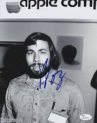 STEVE WOZNIAK INPERSON Signed 40x40 Photo W JSA COA M40 Apple Classy Steves Jobs Qur Hd