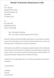 Sample Of A Termination Letter To An Employee 23 Free Termination Letter Templates Pdf Doc Free Premium