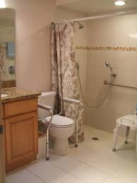 handicapped bathroom designs. Handicapped Accessible Bathroom Designs Handicap With Tile Shower Remodel Before And After .