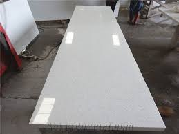 white sparkle quartz countertop