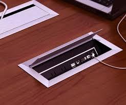 desk power outlet. Ellora Power And Data Distribution Center Table Top Outlets Byrne - In Desk Outlet