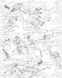 chassis electrical equipment klx 150l satria k a motor skm